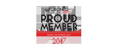 Proud Member Toronto Tourism Logo