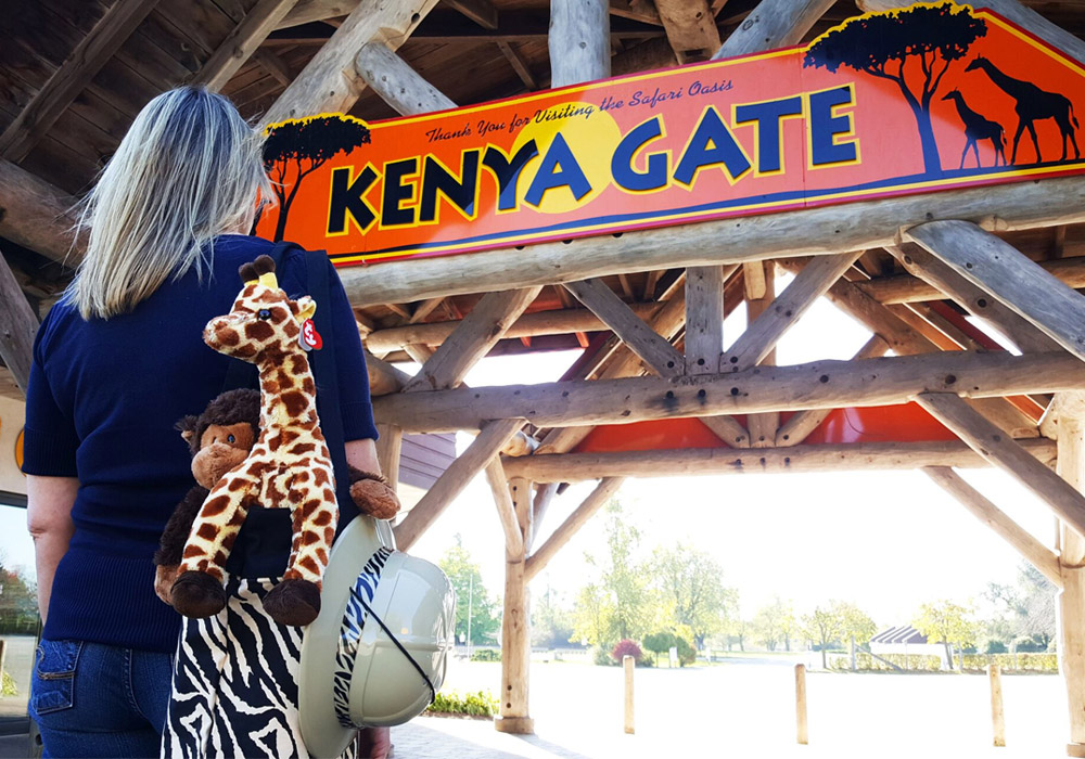 Kenya Gate Entrance
